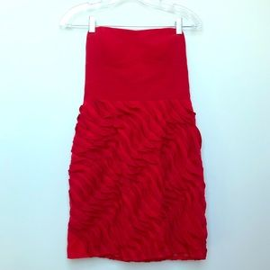 NEW Nordstrom Red Sample Dress from Ark & Co Shift